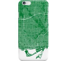 Toronto (Green) iPhone Case/Skin