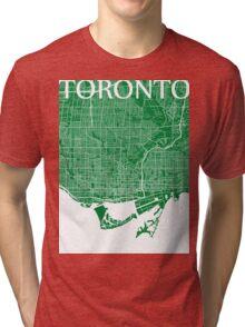 Toronto (Green) Tri-blend T-Shirt