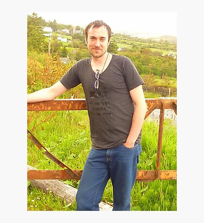 My Friend Jonny Photographic Print