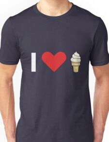 I Love Ice Cream Unisex T-Shirt