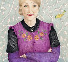 Señora Hudson by shinysherlock