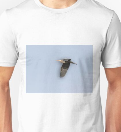 Great Blue Heron 2015-12 Unisex T-Shirt
