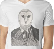 Doctor Whoot Mens V-Neck T-Shirt