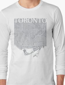 Toronto (Grey) Long Sleeve T-Shirt