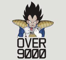 Over 9000 ! (black) by acid-spit