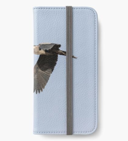 Great Blue Heron 2015-13 iPhone Wallet/Case/Skin