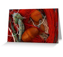 The wild and magic beauty of fishing nets ~ 12 Greeting Card