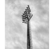 Stadium Floodlights Photographic Print