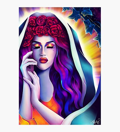 Holy Adore Photographic Print