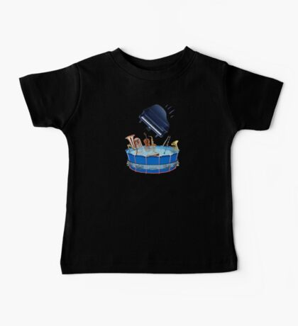 Musical Pool-party Piano Gate Crasher Baby Tee