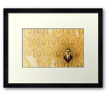 Madman in the Wallpaper Framed Print