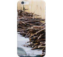 Wood Piles iPhone Case/Skin