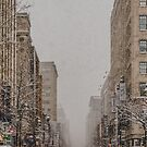 Snowy Day in Montreal by Valerie Rosen