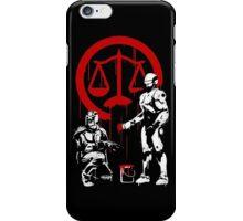 Law Enforcement in Dystopia iPhone Case/Skin