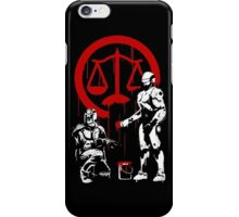 Law Enforcement in Dystopia iPhone Case/Skin