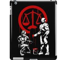Law Enforcement in Dystopia iPad Case/Skin