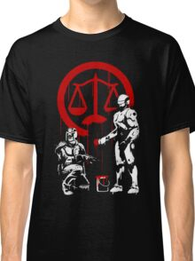 Law Enforcement in Dystopia Classic T-Shirt