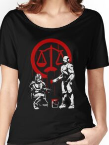 Law Enforcement in Dystopia Women's Relaxed Fit T-Shirt