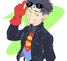 DC - Superboy - that 90's look by wattleseeds