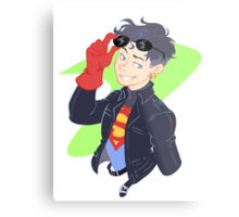DC - Superboy - that 90's look Metal Print