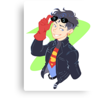 DC - Superboy - that 90's look Canvas Print