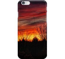 Elkland Township Sunset iPhone Case/Skin
