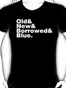 Bridal Helvetica T-Shirt
