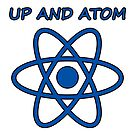 Up and Atom Science Humor by sciencenotes