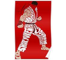 Ryu Typography Poster