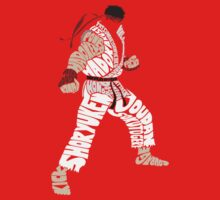 Ryu Typography by kingsrock