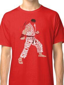 Ryu Typography Classic T-Shirt