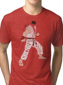 Ryu Typography Tri-blend T-Shirt