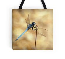 Scarce Chaser Dragonfly by Jacqui Davey Tote Bag