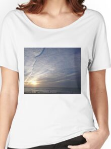 coogee sunrise with clouds Women's Relaxed Fit T-Shirt