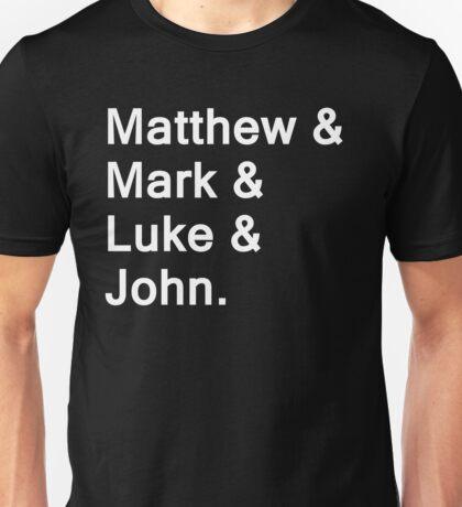 The Gospels Unisex T-Shirt