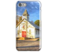 Marvin Chapel iPhone Case/Skin