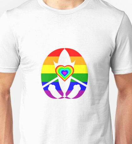 Graphic Rainbow Abstract Peace and Happiness Unisex T-Shirt