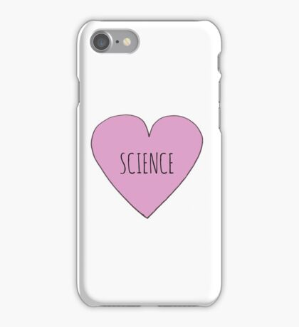 Science Love iPhone Case/Skin