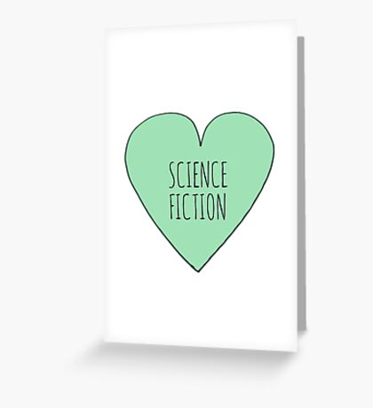 Science Fiction Love Greeting Card