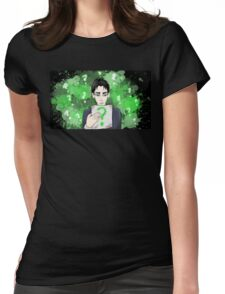 Riddle Me This, Oswald.  Womens Fitted T-Shirt
