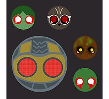minimalistic chibi guardians:  the theif Photographic Print