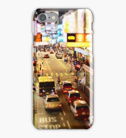 Busy Hong Kong Street iPhone Case/Skin