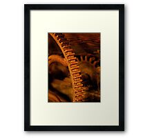 Early winemaking tool Framed Print