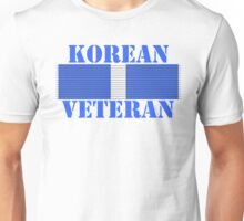 Korean Veteran Unisex T-Shirt