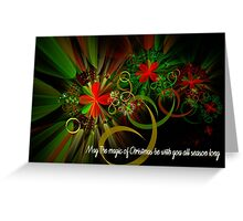 The Magic Of Christmas Greeting Card