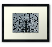 Another view of the playground. Framed Print