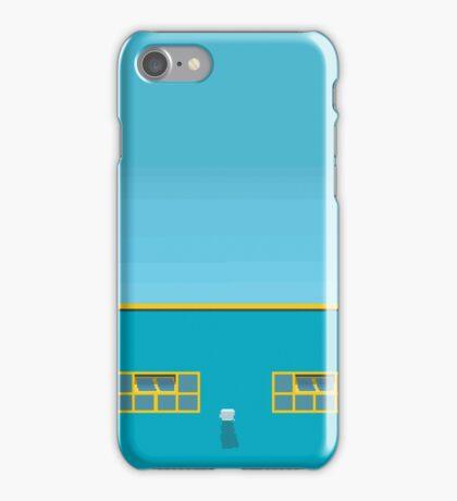 Blue Building iPhone Case/Skin