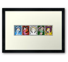 Sailor Mucha Scouts Framed Print