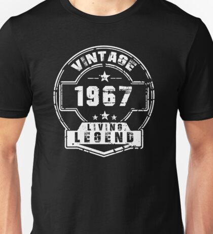 BORN IN 1967 Unisex T-Shirt