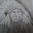 NATIVE AMERICAN CHIEF by nellaevad